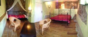 La chambre d'hôtes Païolive en Ardèche