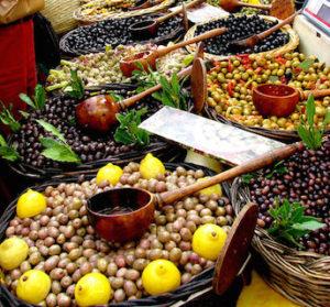les marchés dans le sud de l'Ardèche