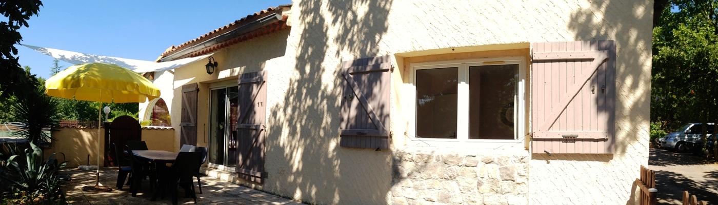 Gîte dans les gorges de l'Ardèche